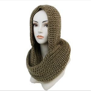✨Coming Soon✨ Mocha Hooded Scarf